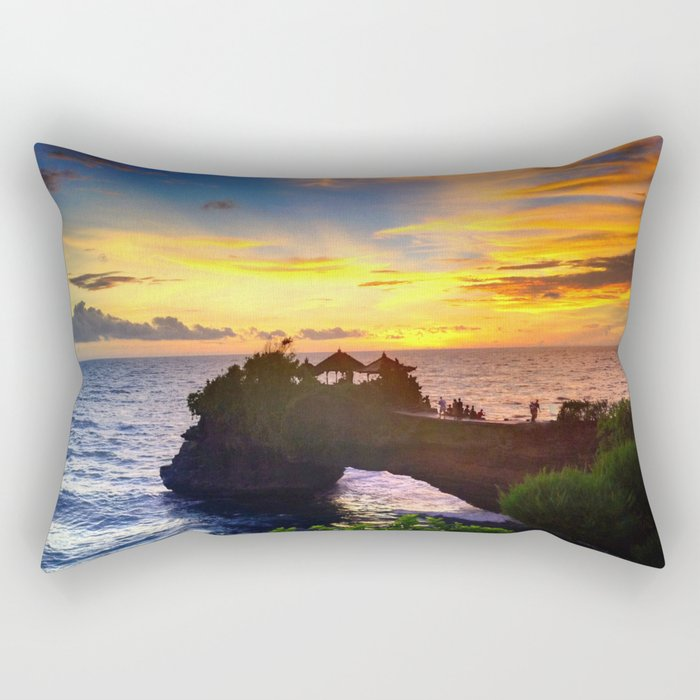 Tanah Lot1 Rectangular Pillow
