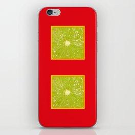 Lime Eyes – Strange Fruits iPhone Skin