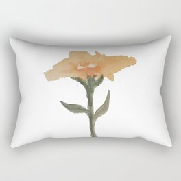 Snow Flower Rectangular Pillow
