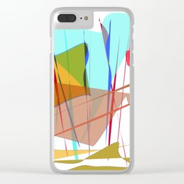 Graphic 1 Clear iPhone Case