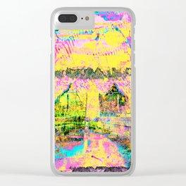 asteroid eschaton rebranding Clear iPhone Case