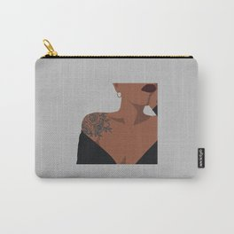 Tattooed black girl Carry-All Pouch