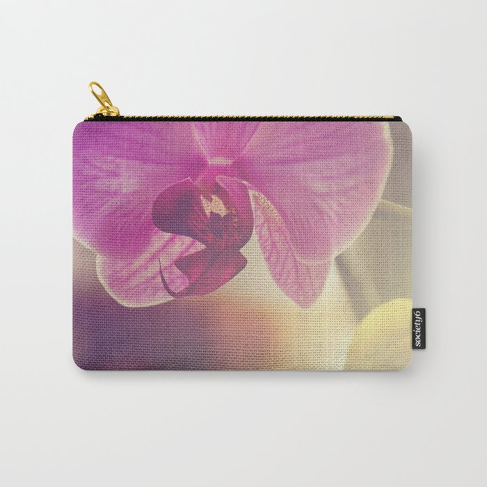 Morning Orchids Carry-All Pouch