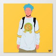 teenage boy 4 Canvas Print