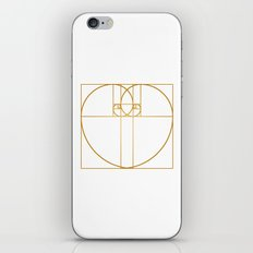 Heart of Gold iPhone Skin
