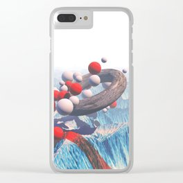Black Mantra Clear iPhone Case