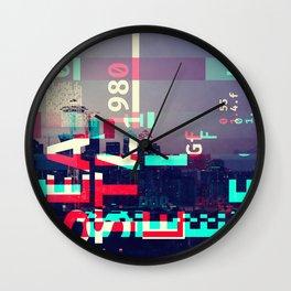 GLITCH CITY #31: Seattle Wall Clock