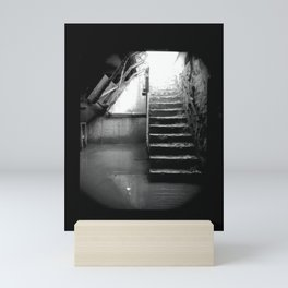 Murky Waters. Muddy Staircase. Mini Art Print