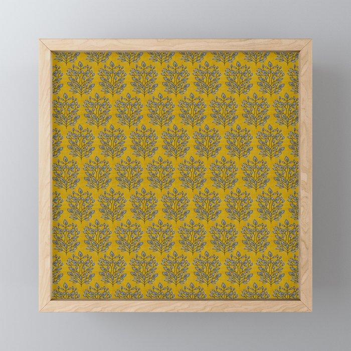 MARA GOLD LEAF Framed Mini Art Print