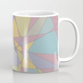 Shattered Yellow & Purple Coffee Mug