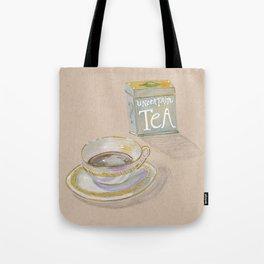 Uncertain Tea Tote Bag
