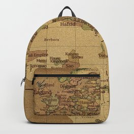medieval Map Backpack