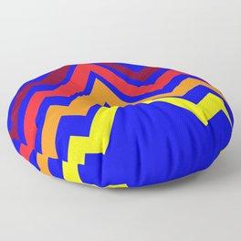 Retro Lightening Floor Pillow