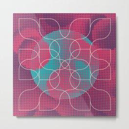 string theory Metal Print