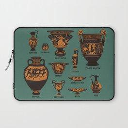 Greek Pottery Laptop Sleeve