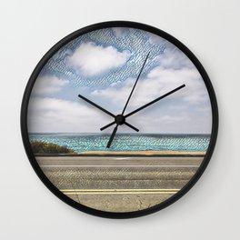 Cliffside Mosaic Wall Clock