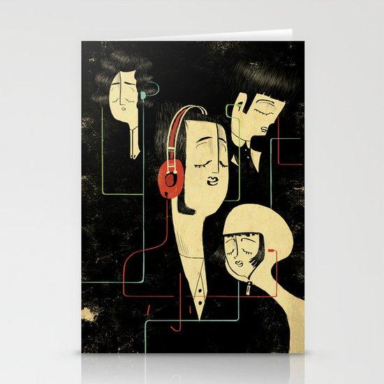 乐 Music Lovers / Vintage Stationery Cards