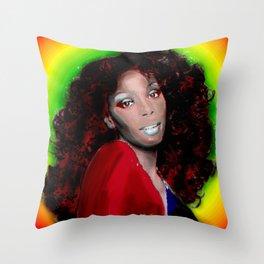 Donna Summer Throw Pillow
