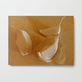 Garlic in Repose Metal Print