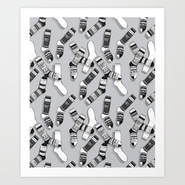 Sock It To Me Art Print