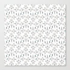 Flowers Pattern I Canvas Print