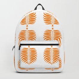 TROPICAL PALMS . TANGERINE Backpack