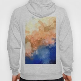 "Modern Contemporary "" Tranquility""Abstract Hoody"