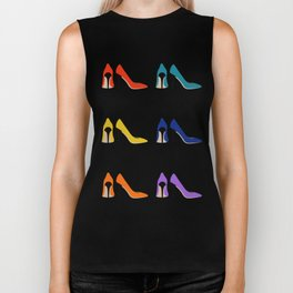 heel shoes Biker Tank