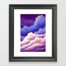 Dreaming of Clouds Framed Art Print