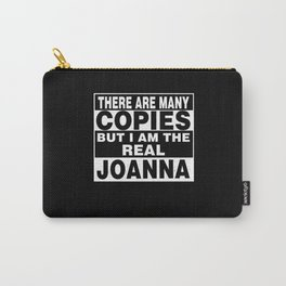 I Am Joanna Funny Personal Personalized Gift Carry-All Pouch