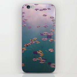 Claude Monet on my mind iPhone Skin