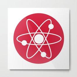 Atom Symbol Metal Print