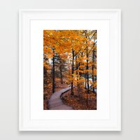 boardwalk empire Framed Art Prints featuring Boardwalk by Preappy