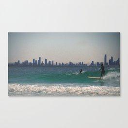 A day at the Beach 6 Canvas Print