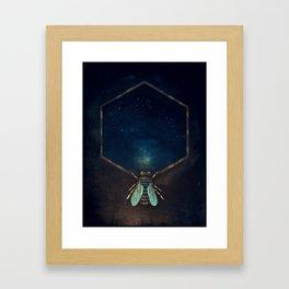 Bee Universe Framed Art Print
