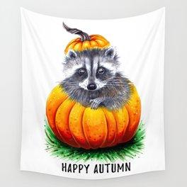 Little pumpkin Wall Tapestry