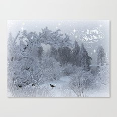 Merry Christmes Canvas Print