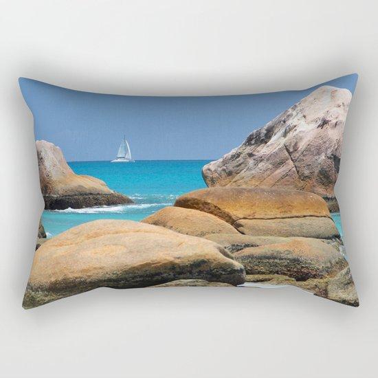 Sea Seychelles Rectangular Pillow
