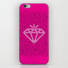 diamond magenta iPhone & iPod Skin