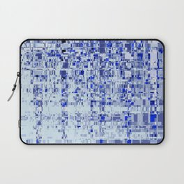 Abstract Architecture Blue Laptop Sleeve