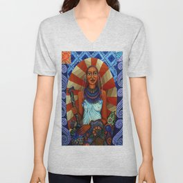 Mother Earth Unisex V-Neck