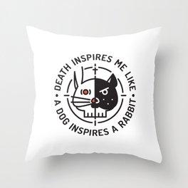 HDS Throw Pillow