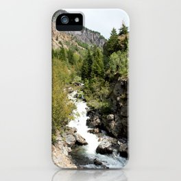 Headwaters of the Mighty Uncompahgre River iPhone Case