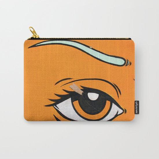 Eye orange 4 Carry-All Pouch