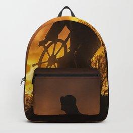 Fisherman's Memorial Sunset Backpack