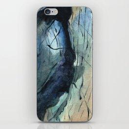 Labradorite Crystal Watercolor iPhone Skin