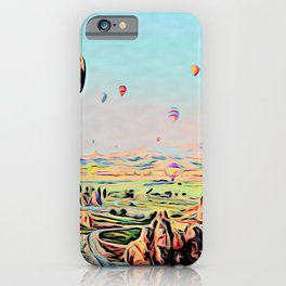 Cappadocia Otherworldly Ballooning Games Gas Event Mountain Country iPhone Case