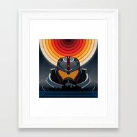 pacific rim Framed Art Prints featuring Pacific Rim by milanova