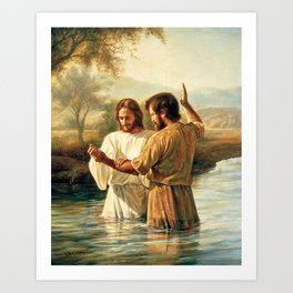 John The Baptist Art Print