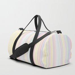 Happy Dream -Elegant Colorful stripe- Duffle Bag